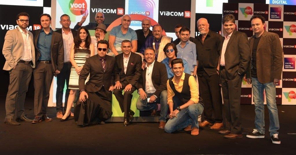 Team Voot with VOOt Orignals cast