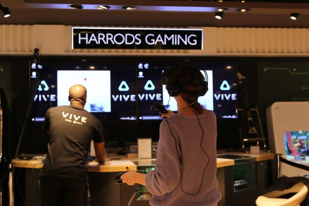 Harrods HTC Vive