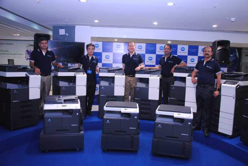 Konica minolta launching office and production printers