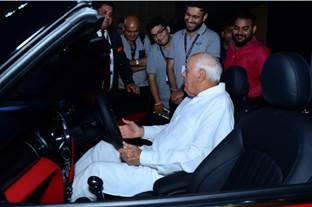Farooq Abdullah at The Luxury Festival