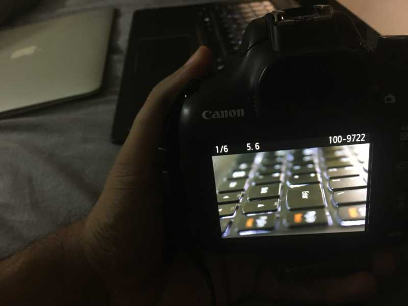 Canon 1300D Sample