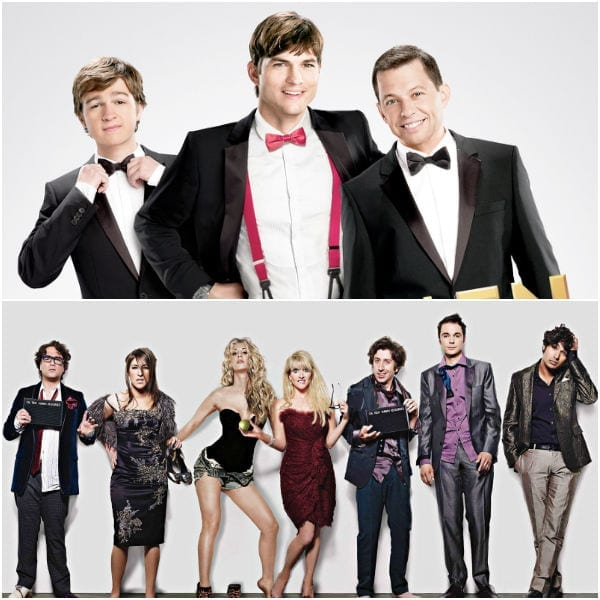 FRIENDS, The Big Bang Theory, Two and a Half Men