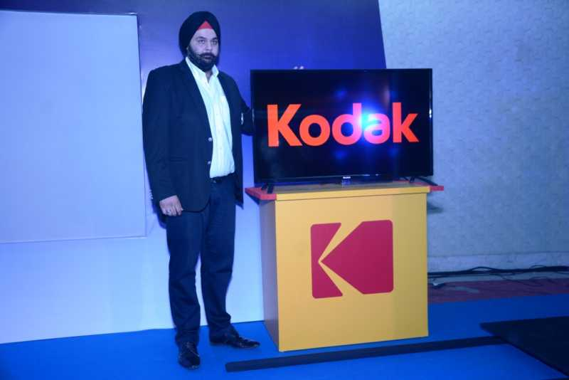 Mr. Avneet Singh Marwa, Director, SPPL, launching Kodak TV India (3)