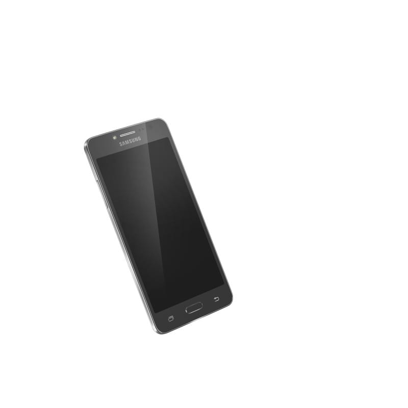 Galaxy J2 Ace Front Black