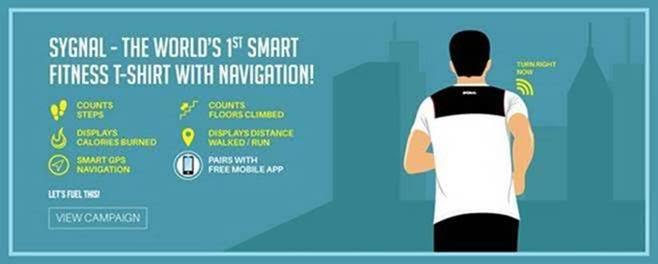 Broadcast Wearables introduces the World's 1st Smart Fitness T-shirt