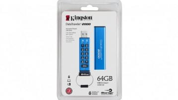 Kingston Launches DataTraveler 2000 Secure USBs in India