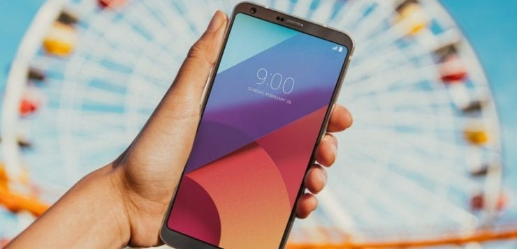 LG G6 announced at MWC 2017