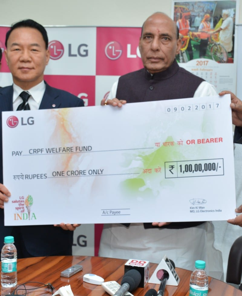 LG's #KarSalaam initiative salutes the spirit of the Indian soldiers.