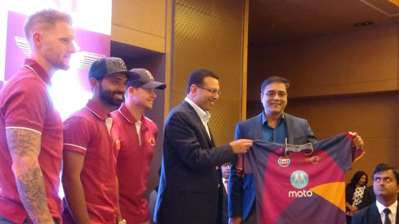 Motorola is Rising Pune Supergiant's Team