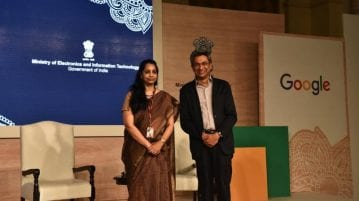 Google India & Ministry of IT launch initiatives