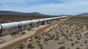 Hyperloop One Reveals First Images of Nevada Desert Development Site