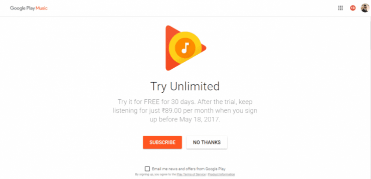 Google Launches Google Play Music