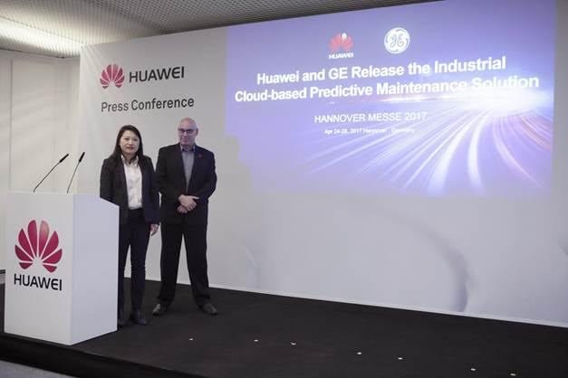 Huawei and GE Release Industrial Cloud-based Predictive Maintenance Solution