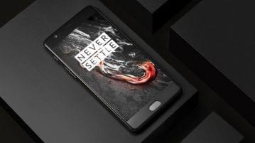 OnePlus 3T Midnight Black