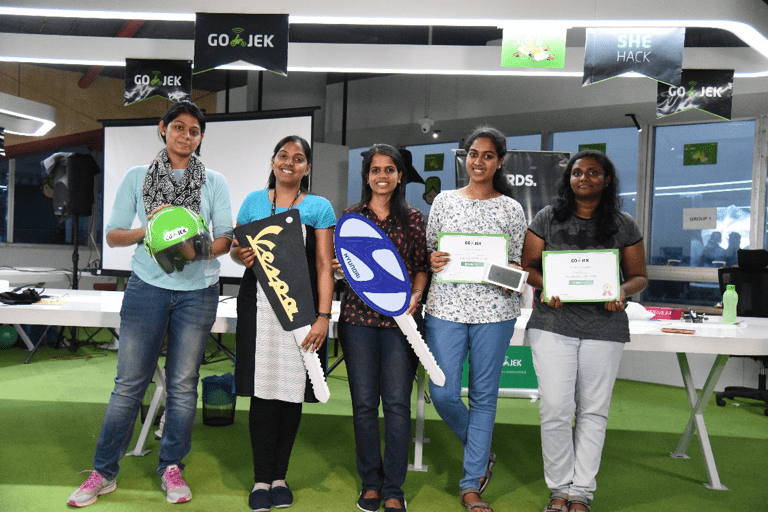 GO-JEK is encouraging and empowering women in technology by hosting She-Hack hackathons