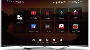 CloudWalker 55-inch Smart TV