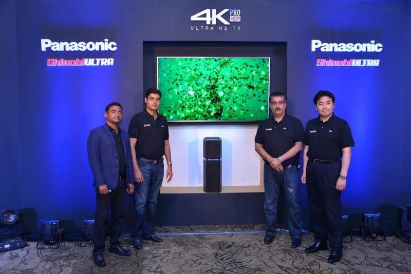 Panasonic launched a new range 4K Ultra HD TVs