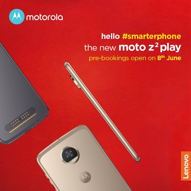 Moto Z2 Play India launch date