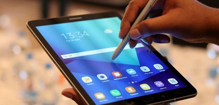 Samsung Galaxy Tab S3 weight
