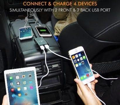 Amkette Launches 4 Port car charger