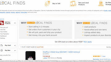 Amazon Local Find