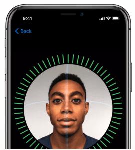 Apple iPhone X FaceID