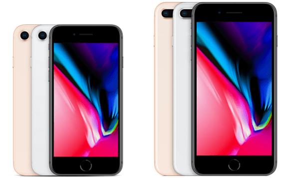 iPhone 8, 8 Plus