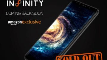 Micromax Canvas Infinity sold out during its first sale on Amazon