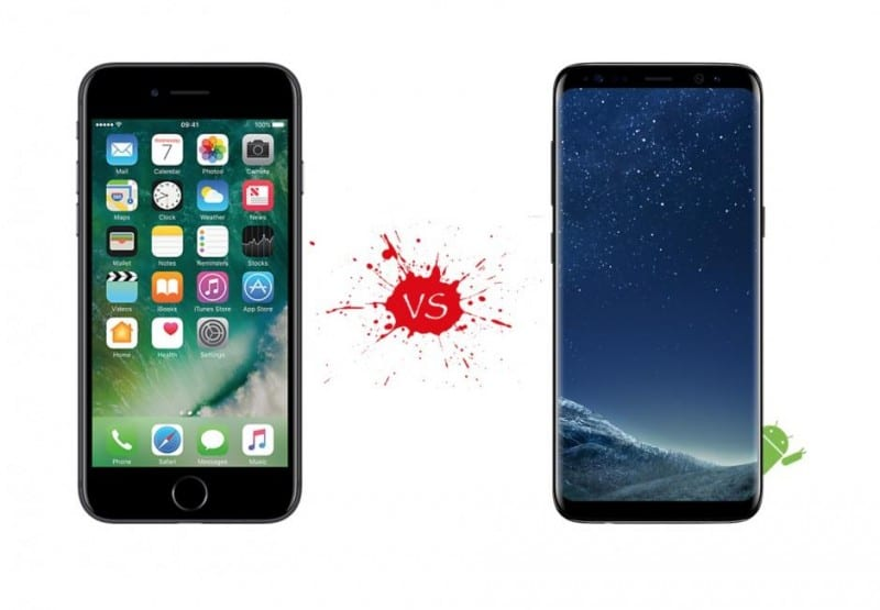 what s better samsung or iphone 8 reasons why samsung galaxy s8 is better than apple s 18224