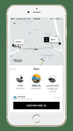 Uber UberHIRE XL