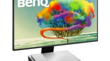BenQ Launches Designer Monitor PD2710QC with USB-C Docking Station with MacBook compatibility