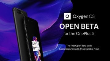 Android Oreo 8 with Oxygen 5.0