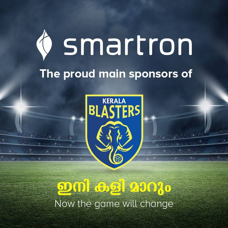 Smartron partners with Kerala Blasters for the fourth season of ISL