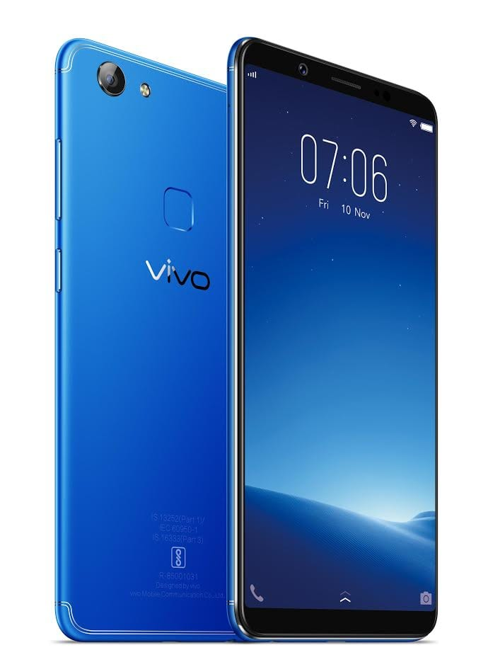 Vivo V7 Energetic Blue Variant Now Available For Inr