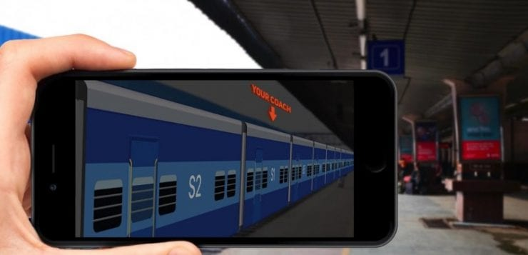 ixigo introduces India's First AR feature for train passengers