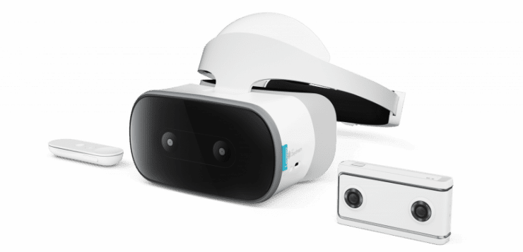Lenovo announces standalone DayDream VR headset and Mirage camera