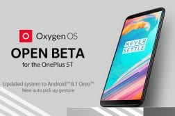 OnePlus 5 and 5T updated to Android 8.1 Oreo with the latest Open Beta update