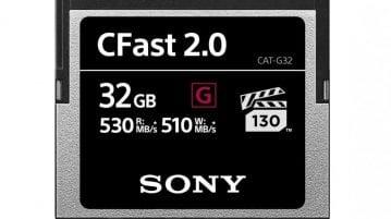 Sony CFast Range