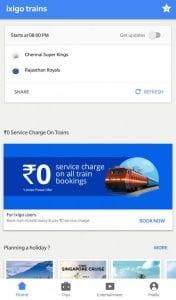Check Live IPL Scores On The ixigo Trains App