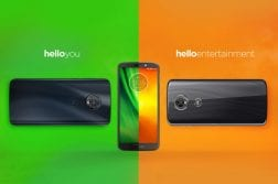 Moto G6, G6 Play, G6 Plus, E5, and E5 Plus
