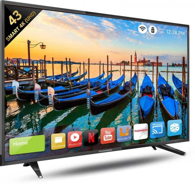 Thomson launches new Smart TV range in India starting at INR 13,490