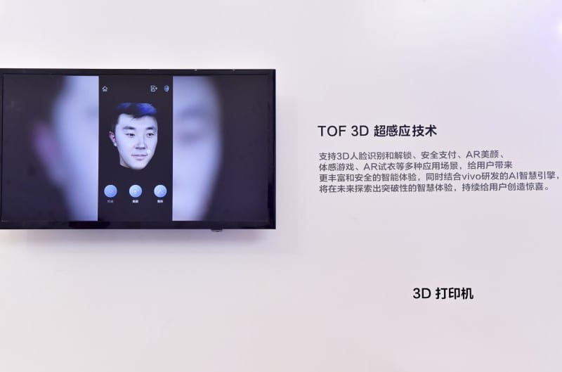 Vivo Showcases TOF 3D Sensing Technology at MWC Shanghai 2018
