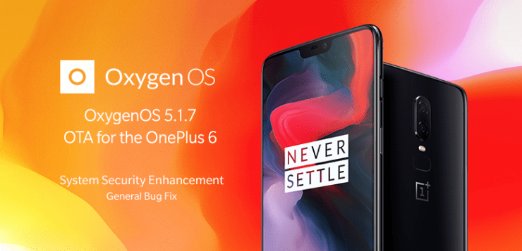 OOS 5.1.7 for the OnePlus 6