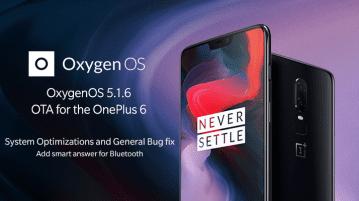 OxygenOS 5.1.6 OTA update