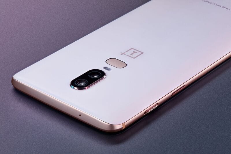 Limited Edition OnePlus 6 Silk White