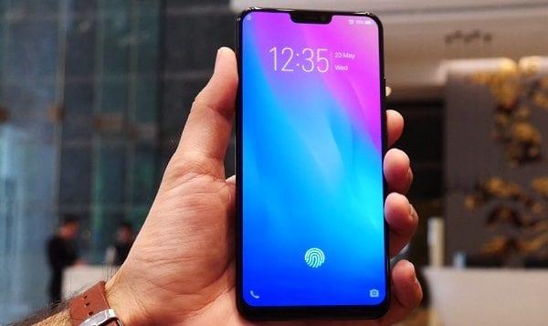 Vivo X21 Under glass fingerprint scanner
