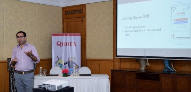 Quora launches in Hindi
