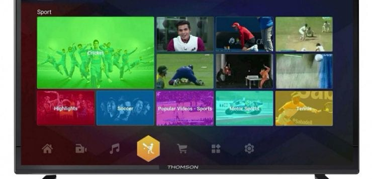 "Thomson introduces new 'My Wall' interface for its 32"" & 40'' Smart TVs"