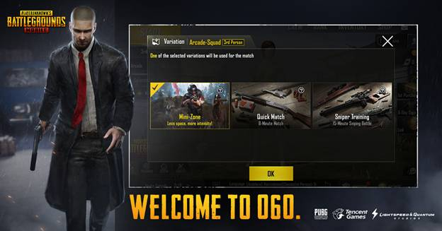 PUBG Corporation are introducing an all-new first-person perspective variation to the Classic Mode of PUBG MOBILE allowing players to play PUBG MOBILE from an all-new perspective.