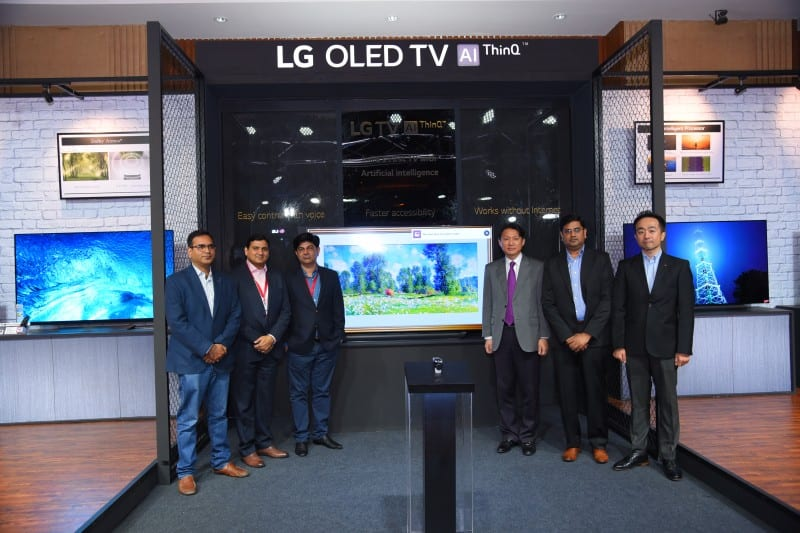 """LG unveils """"India's first TV with Artificial Intelligence"""""""